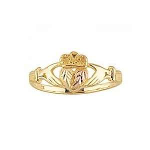 Beautiful! Yellow gold Black Hills Gold Womens Claddagh