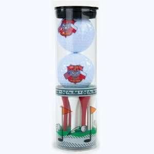 Golf Balls & Tees   Polish American Flags & Eagle Set