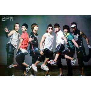 2pm Nichkhun Horvejkul Korean Boy Band Pop Dance Music Wall Decoration