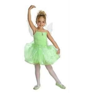 Tinker Bell Child Ballerina Costume   Toddler 3T 4T Toys