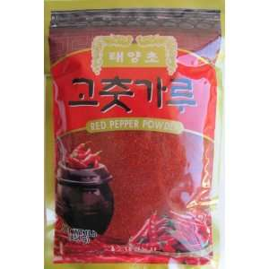 Dae Kyung Sun Baked Korean Red Pepper Coarse Powder, 1.0 Pounds