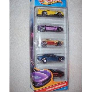 Hot Wheels 5 Car Gift Pack   Chevrolet   164 Scale