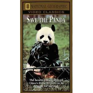 National Geographics Save the Panda [VHS] National