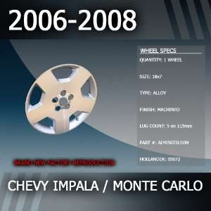 2006 2008 Chevy Impala/Monte Carlo Factory 18 Wheel Automotive