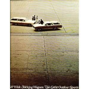 1968 Poniac Saion Wagon Sales Brochure Bonneville LeMans Caalina