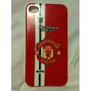 Manchester United Club Iphone 4 Case + Screen Protector
