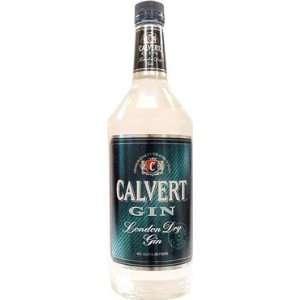 Calvert Gin London Dry 80@ 1 Liter Grocery & Gourmet Food