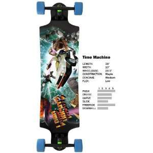 Landyachtz Time Machine Complete Longboard Skateboard With