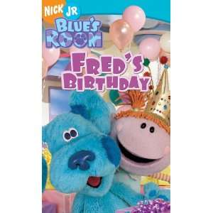 Blues Clues   Blues Room   Freds Birthday [VHS]: Movies