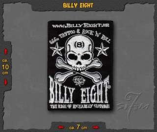 Billy Eight ★ Rockabilly Psychobilly Patch Sticker Badge Billy8 B8