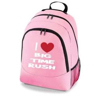 Love Big Time Rush Bag New Girls School Backpack
