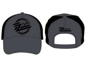 ZZ TOP   CIRCLE LOGO   OFFICIAL BASEBALL CAP HAT