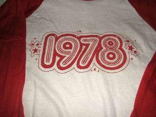 1977 ZZ TOP NEW YEARS EVE TOUR CONCERT SHIRT NEVER WORN