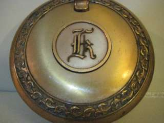 HYDE PARK SILANT BUTTLER BRASS PORTABLE ASH TRAY