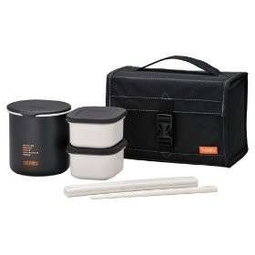 JAPAN THERMOS Lunch Box Set Lunch thermos DBP 362 BK