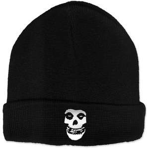 New The Misfits Knitted Beanie hat cap w/ embroidered Fiend Skull
