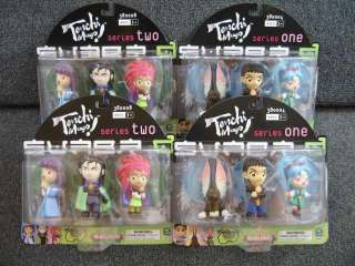 LOT OF 12 TENCHI MUYO FIGURES SERIES 1 & 2 NEW SEALED