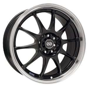 J10 (Matte Black w/ Machined Lip) Wheels/Rims 4x100/108 (409 670 11BK