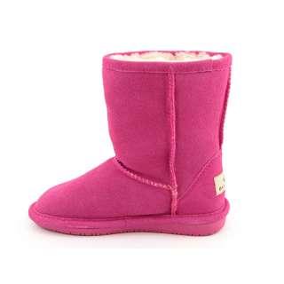BEARPAW Emma Pink Boots Shoes Youth Kids Girls SZ 13
