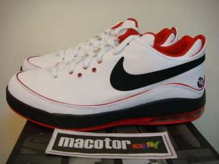 Nike Lebron VII Low Basketball Mens Sz 10 Black White Red