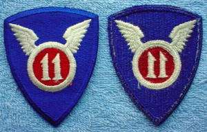 US Army 11th Airborne Division The Angels Sleeve Patch