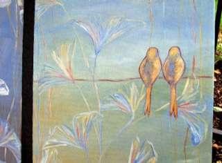 Dana Marie Art ORIGINAL Contemporary MODERN ASIAN ZEN BIRD PAINTING