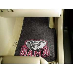 NCAA Alabama Crimson Tide 2 Car  Auto Mat Set