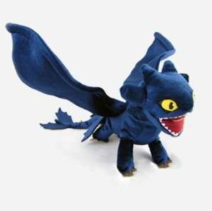 New How To Train Your Dragon plush NIGHT FURY TOOTHLESS 17.5 US FAST