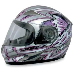 AFX FX 90 Full Face Motorcycle Helmet Passion Pink/Silver