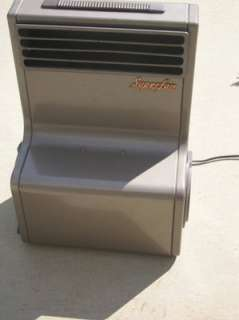 mid century modern metal fan blower floor RARE USA queen