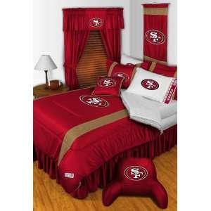 San Francisco 49ers Sidelines Comforter Red