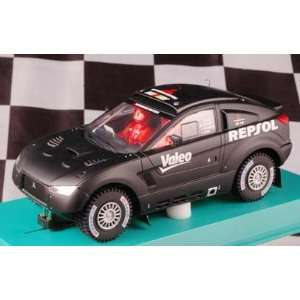 com 1/32 Avant Analog Slot Cars   Mitsubishi Lancer Racing   Test Car