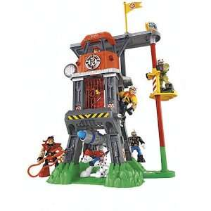 Rescue Heroes Command Center Playset: Toys & Games