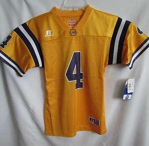 LSU Louisiana State University Tigers YOUTH Large Football Jersey Team