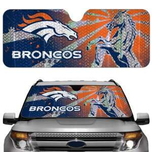 Denver Broncos Car Truck SUV Front Windshield Sunshade   Accordion