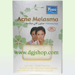 YOKO Acne Melasma Whitening Soap from Original Source!