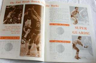 Knicks Los Angeles Lakers NBA Championship Program Finals West