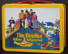 The Beatles Yellow Submarine lunch box