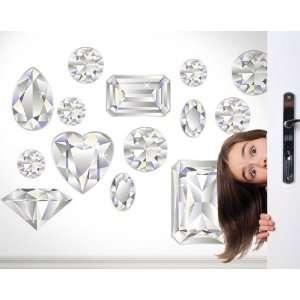 A Girls Best Friend Peel & Stick Accent Diamond White