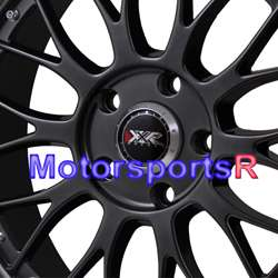 Chromium Black wheels Rims Staggered 98 99 04 Ford Mustang GT Cobra
