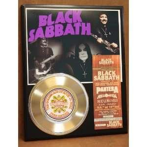 Black Sabbath 24kt Gold Record Concert Ticket Series LTD