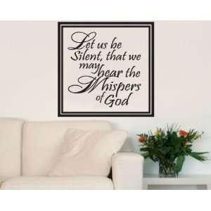 god Scriptural Christian Vinyl Wall Decal Mural Quotes Words