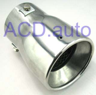 muffler tip stainless steel for Honda Civic 2006 2011 free ship