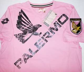 Palermo Leisure T Shirt Soccer Football Jersey Top Kit Italy Maglia