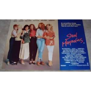 Steel Magnolias   Original Movie Poster   Julia Roberts