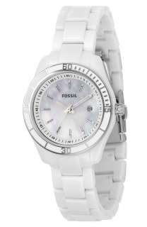 Fossil Stella Mini White Mother Of Pearl Womens Watch ES2544