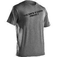 New Under Armour WWP Wounded Warrior Project T Shirt Gray 1217627