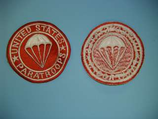 0230 WW 2 US Paratrooper Artillery Airborne patch