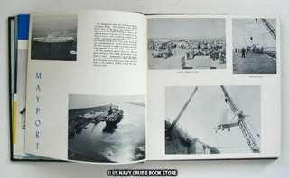 USS CORAL SEA CVA 43 CRUISE BOOK 1956 1957   2 BOOK SET