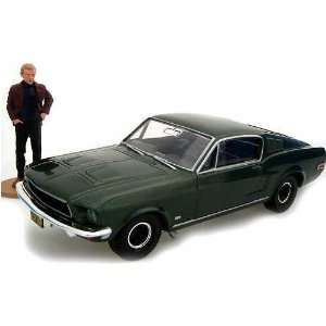 Bullitt Ford Mustang And Figure Set Toys & Games